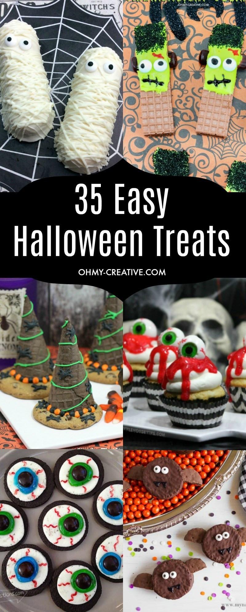 Creative Halloween Desserts  Easy Halloween Treats To Make Oh My Creative