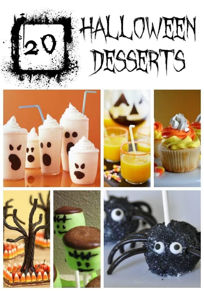 Creative Halloween Desserts  15 Halloween Treats YUM  I Heart Nap Time