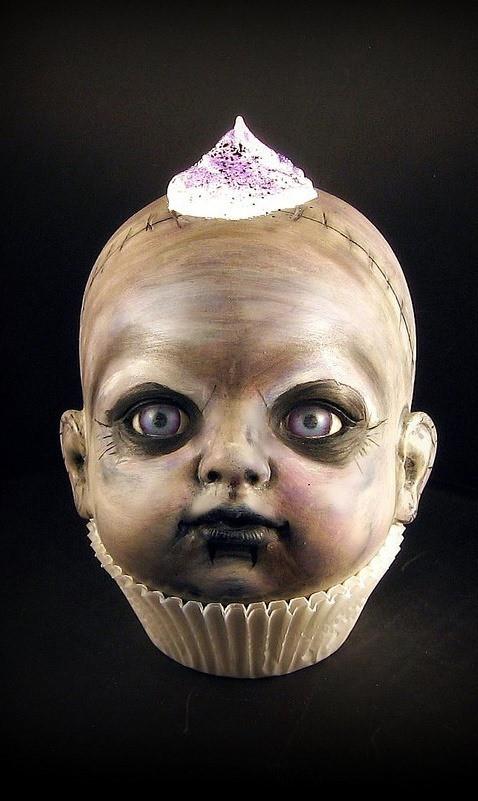 Creepy Halloween Cupcakes  Killer Cupcakes 6 Cute & Creepy Halloween Desserts Food