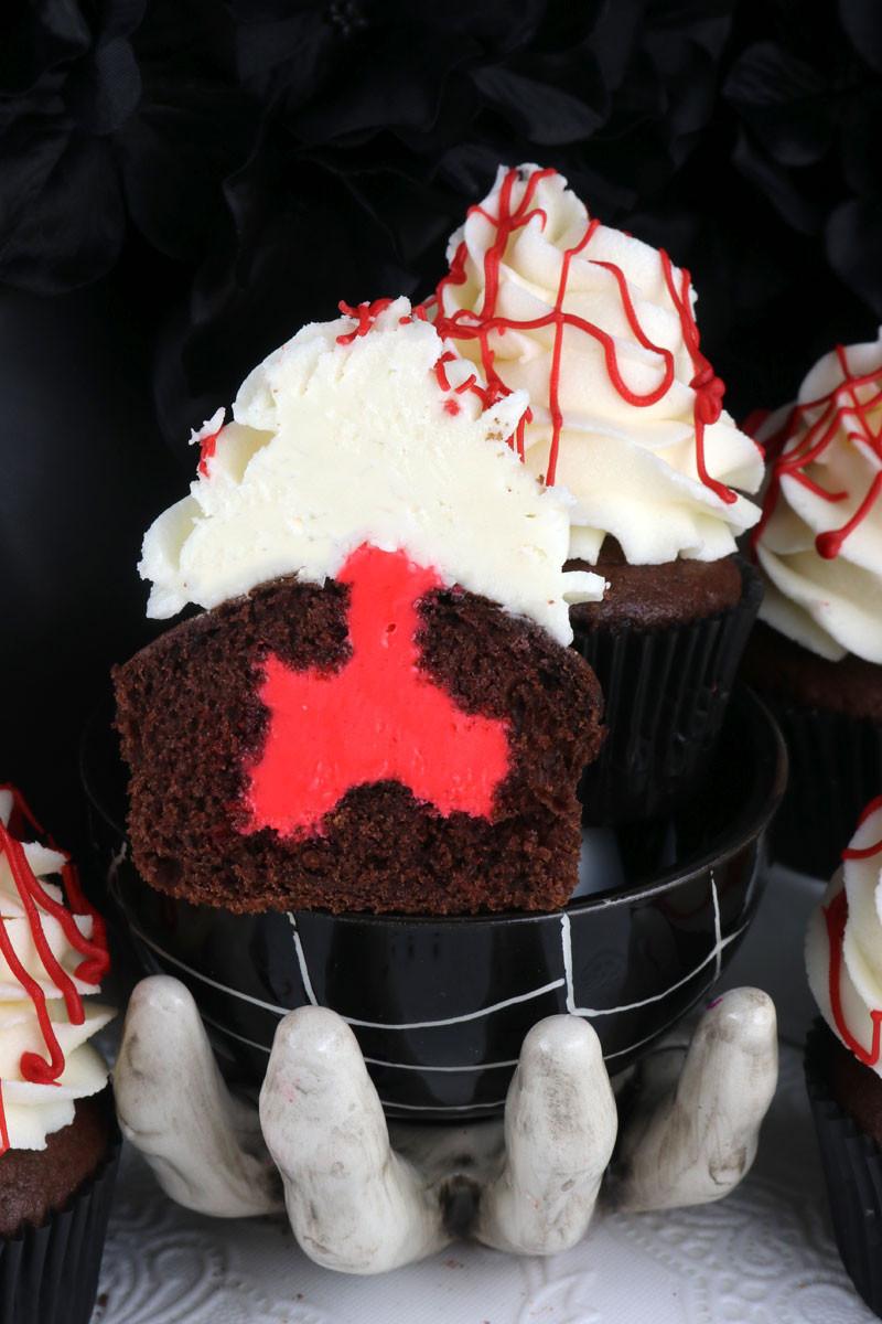 Creepy Halloween Cupcakes  Creepy Cupcakes for Halloween Two Sisters