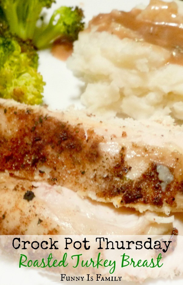 Crock Pot Thanksgiving Turkey  Crock Pot Roasted Turkey Breast