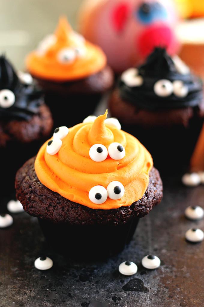 Cupcakes De Halloween  Halloween Monster Witch Cupcakes NeuroticMommy