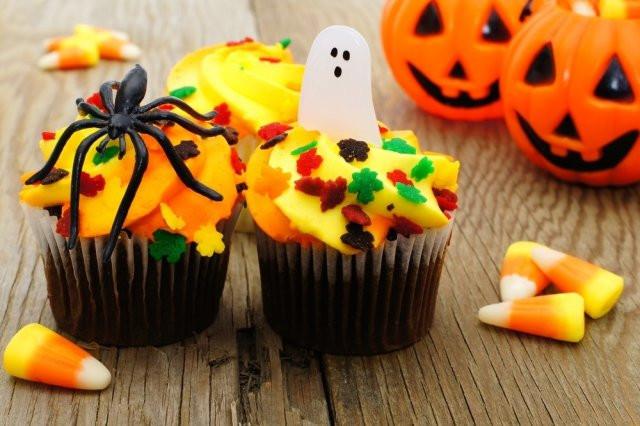 Cupcakes Para Halloween  Cupcakes de Vainilla para Halloween