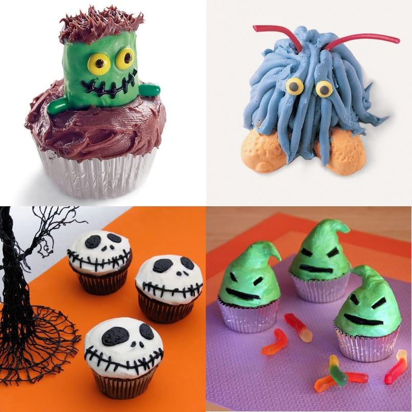 Cupcakes Para Halloween  Ideas para decorar tus cupcakes de Halloween Recetn