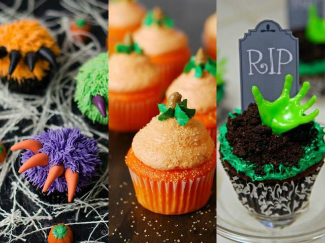 Cupcakes Para Halloween  Lista Creativos cupcakes para Halloween