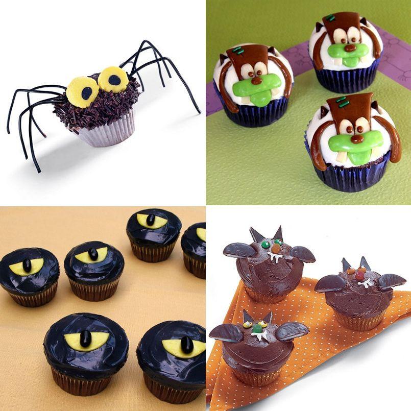 Cupcakes Para Halloween  Ideas para decorar tus cupcakes de Halloween