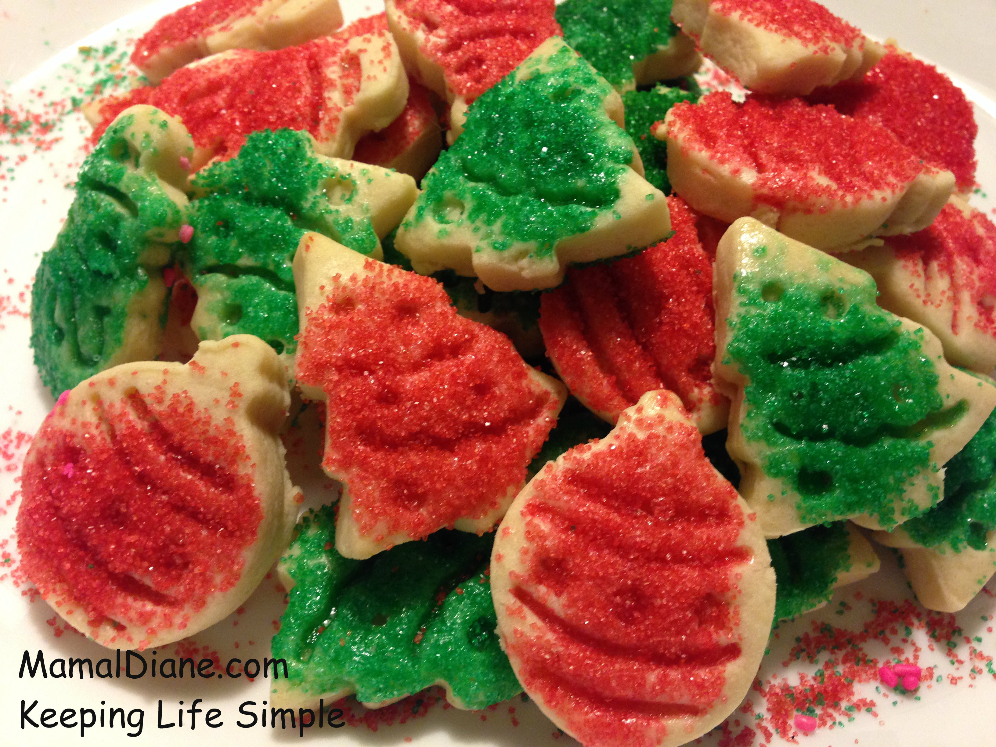 Cut Out Christmas Cookies  Cut out Holiday Butter Cookies – Mamal Diane
