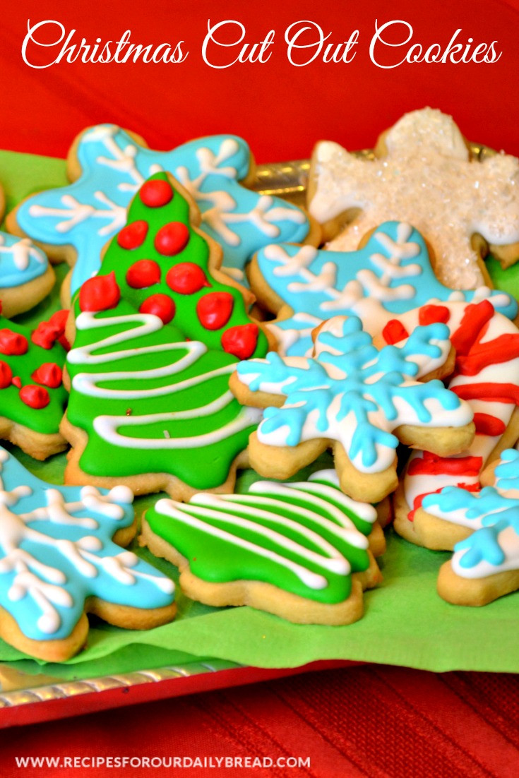 Cut Out Christmas Cookies  Butter Cookies Cut Out for Christmas recipesforourdaily