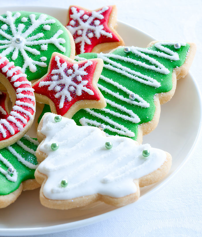 Cut Out Christmas Cookies  Christmas Cut Out Cookies The Cooking Mom