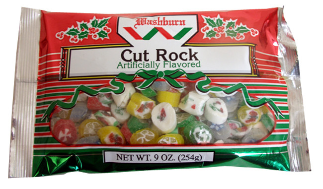 Cut Rock Christmas Candy  Cut Rock Christmas Candy