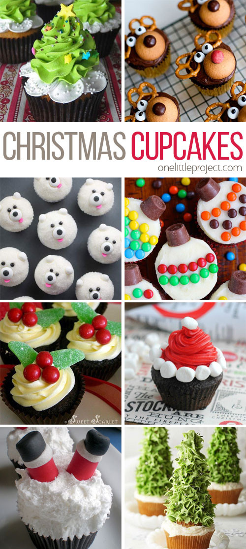 Cute Christmas Baking Ideas  30 Easy Christmas Cupcake Ideas