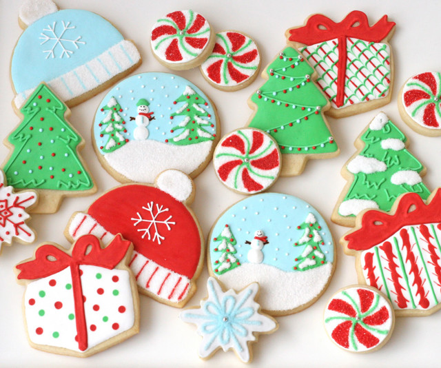 Cute Christmas Cookies Recipes  Decorated Christmas Cookies – Glorious Treats