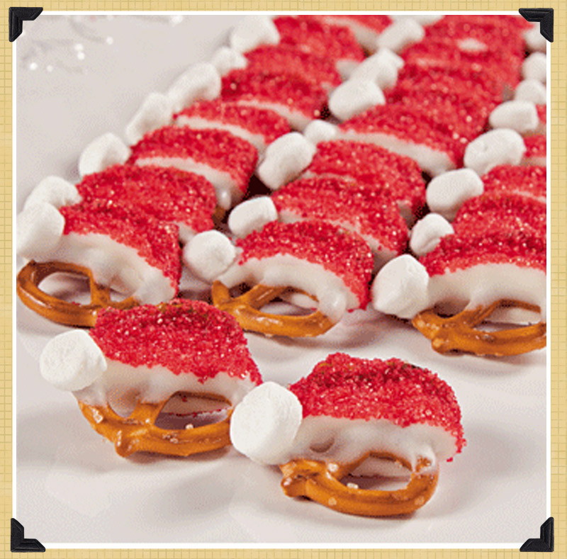 Cute Christmas Desserts  spotted & hearted Pinterest holiday recipes The