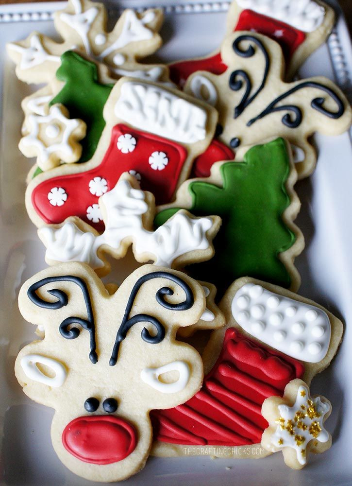 Cute Easy Christmas Cookies  17 Best ideas about Cute Christmas Cookies on Pinterest