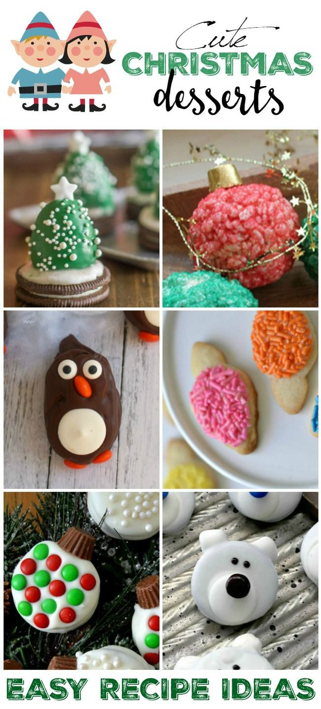 Cute Easy Christmas Desserts  Best 25 Cute christmas desserts ideas on Pinterest