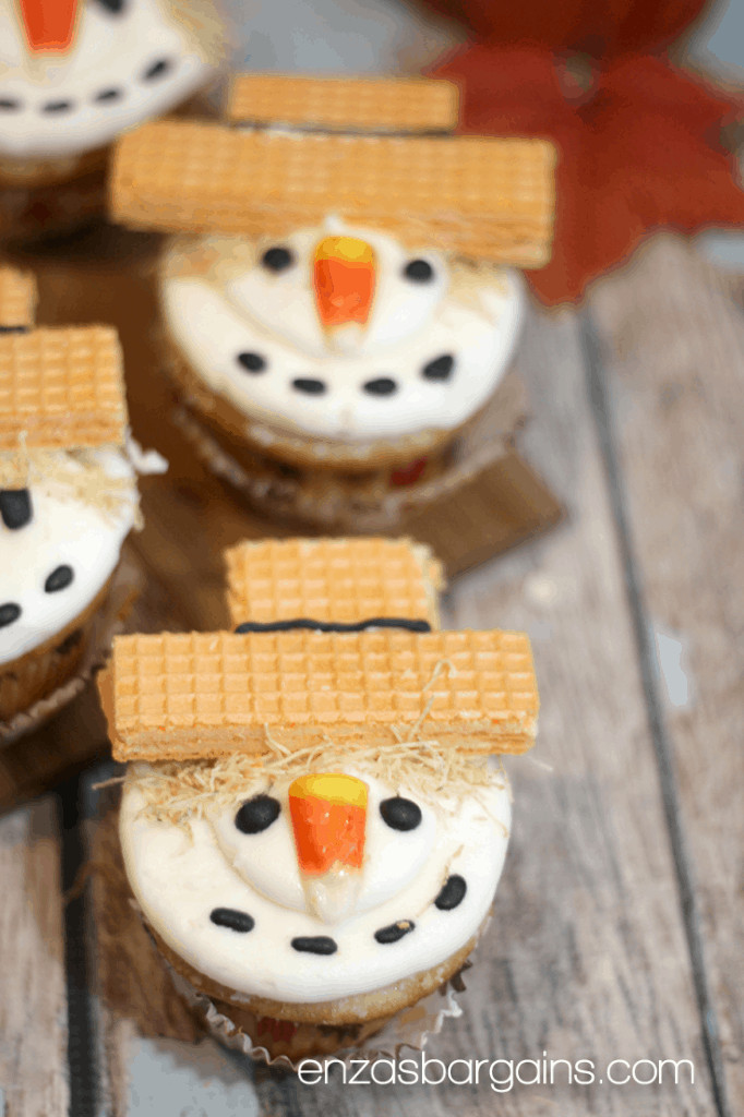 Cute Fall Desserts  Scarecrow Cupcakes Recipe The cutest little fall table
