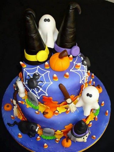 Cute Halloween Cakes  Cute cakes Cakes and So cute on Pinterest
