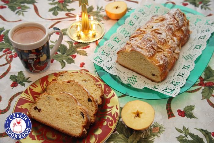 Czech Christmas Bread  Czech Cookbook Video Recipes in English US