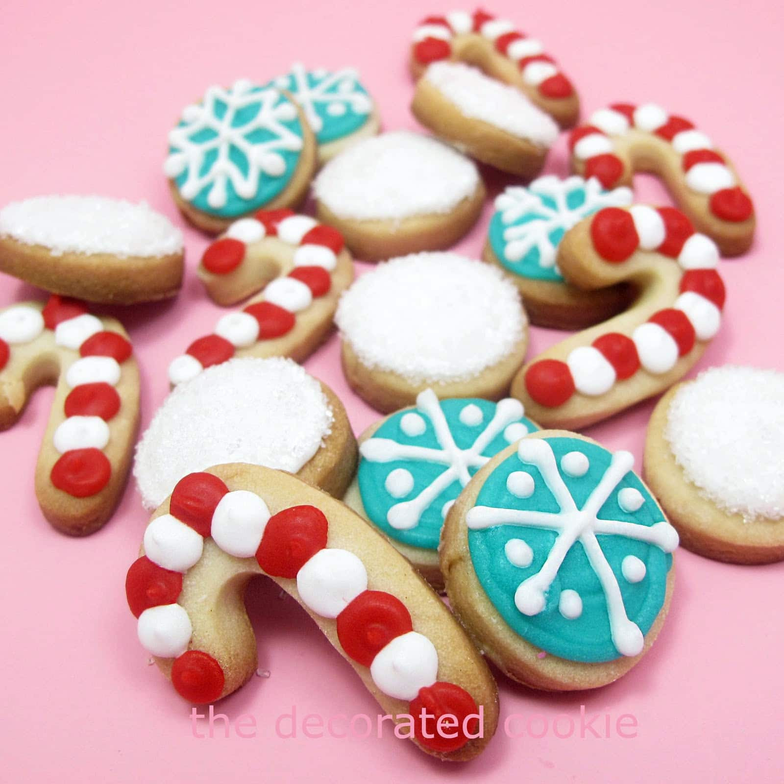 Decorated Christmas Cookies Recipes  Super cute decorated holiday cookies Christmas cookies in