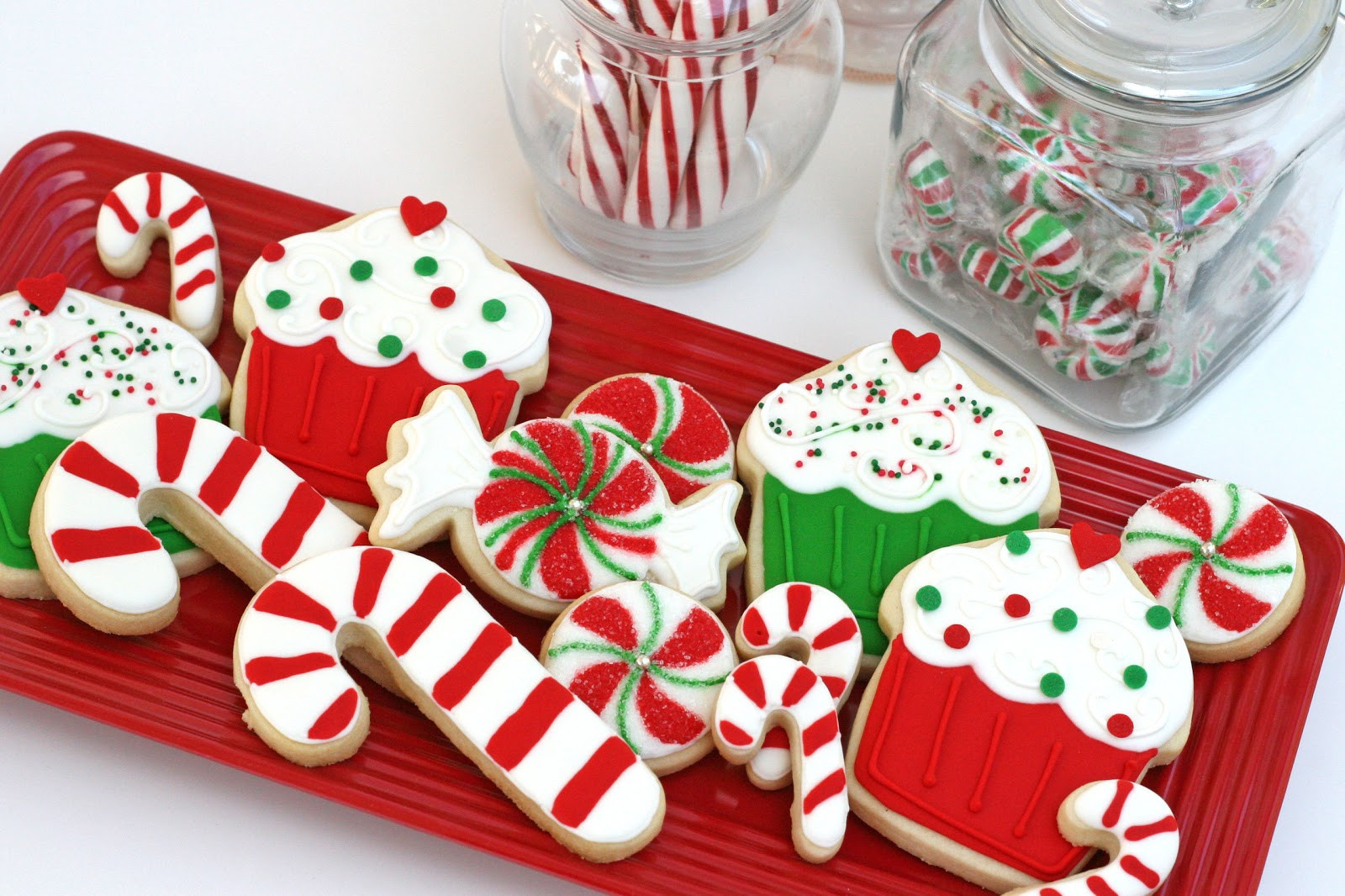 Decorated Christmas Sugar Cookies  Christmas Cookies Galore Glorious Treats