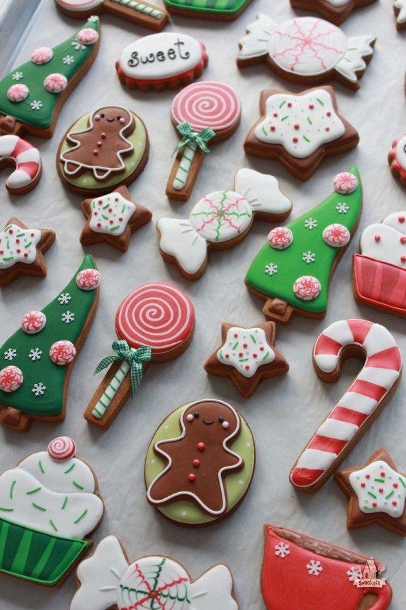 Decorated Christmas Sugar Cookies  17 Best ideas about Decorated Christmas Cookies on