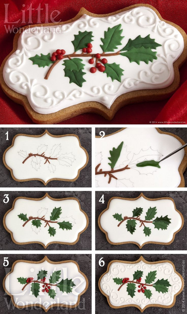 Decorating Christmas Cookies With Royal Icing  Best 25 Decorated christmas cookies ideas on Pinterest