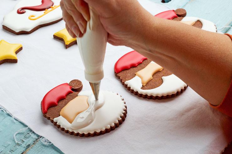 Decorating Christmas Cookies With Royal Icing  Christmas Cookies for Santa