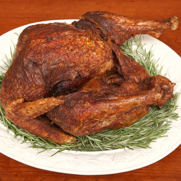 Deep Fried Turkey Recipes Thanksgiving  Deep Fried Turkey with Herbs recipe