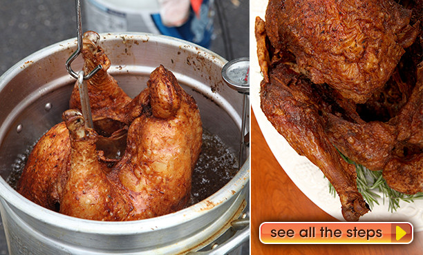 Deep Fried Turkey Recipes Thanksgiving  Deep Fried Turkey Recipe and Tips