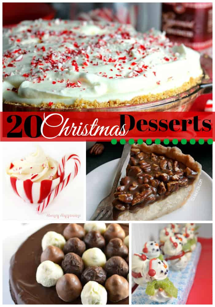 Delicious Christmas Desserts  20 Delicious Christmas Desserts to Make Your Mouth Water