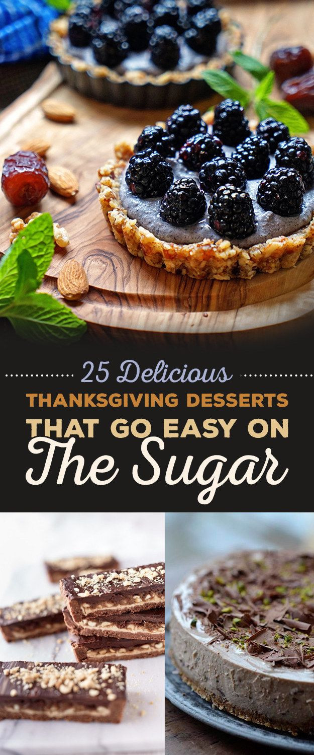 Delicious Thanksgiving Desserts  25 Delicious Thanksgiving Desserts That Go Easy The