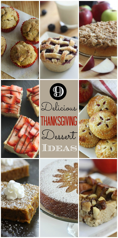 Delicious Thanksgiving Desserts  Last Minute Thanksgiving Dessert Ideas