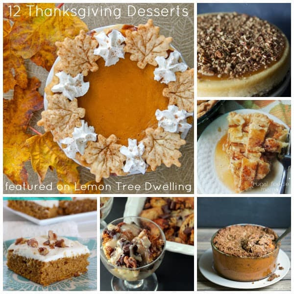 Delicious Thanksgiving Desserts  12 Delicious Thanksgiving Desserts