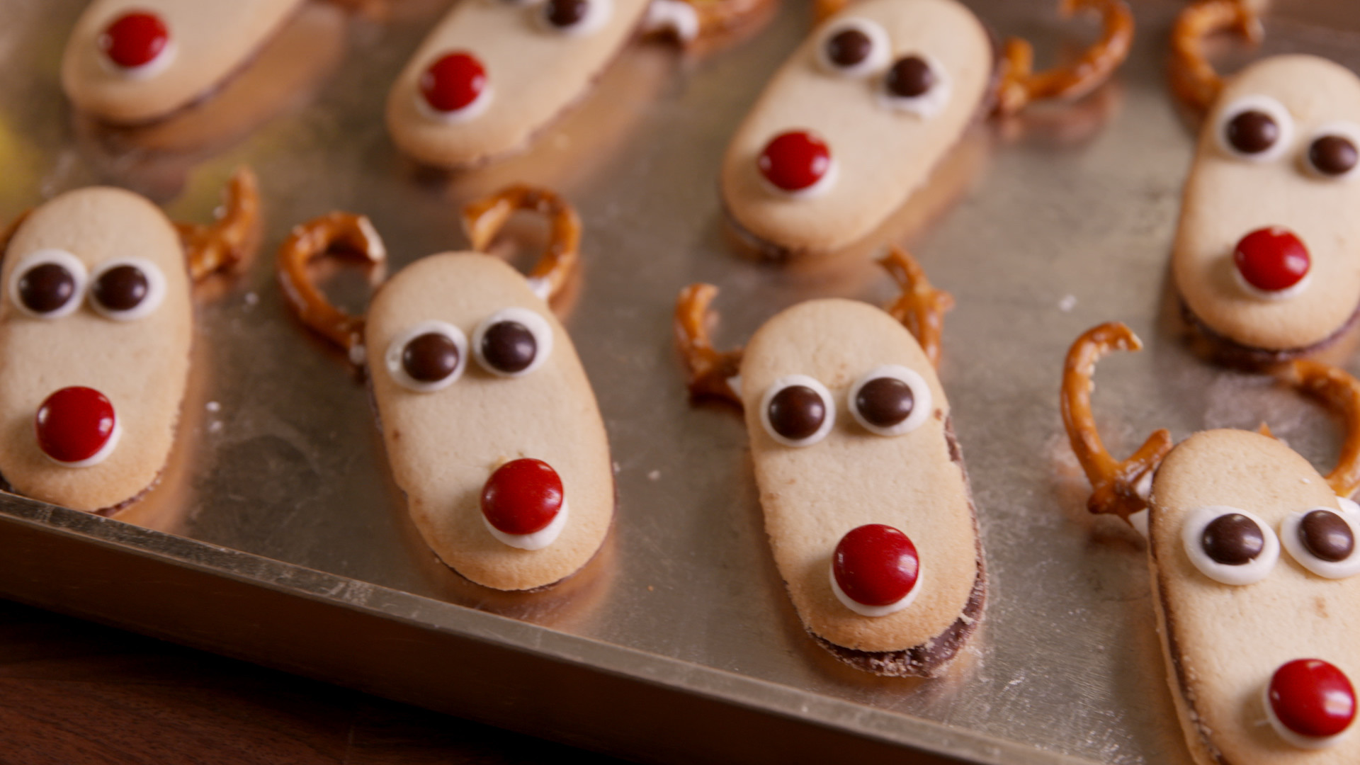 Delish Christmas Cookies  13 Best Reindeer Cupcakes and Cookies Recipes How to