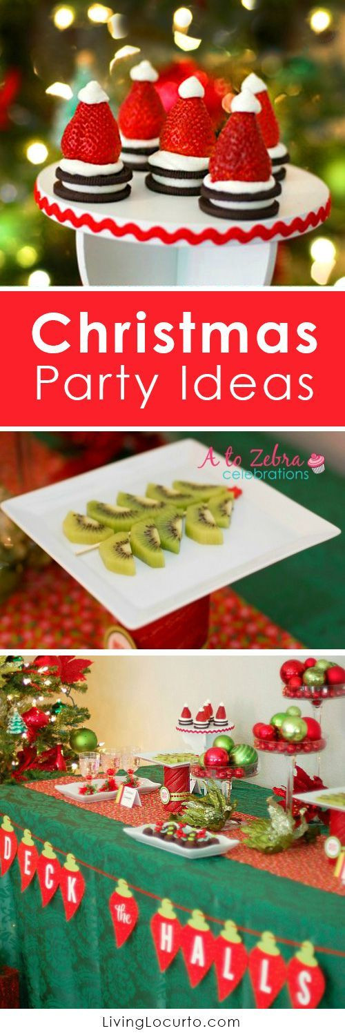 Desserts For Christmas Party  Christmas parties Christmas trees and Holiday parties on