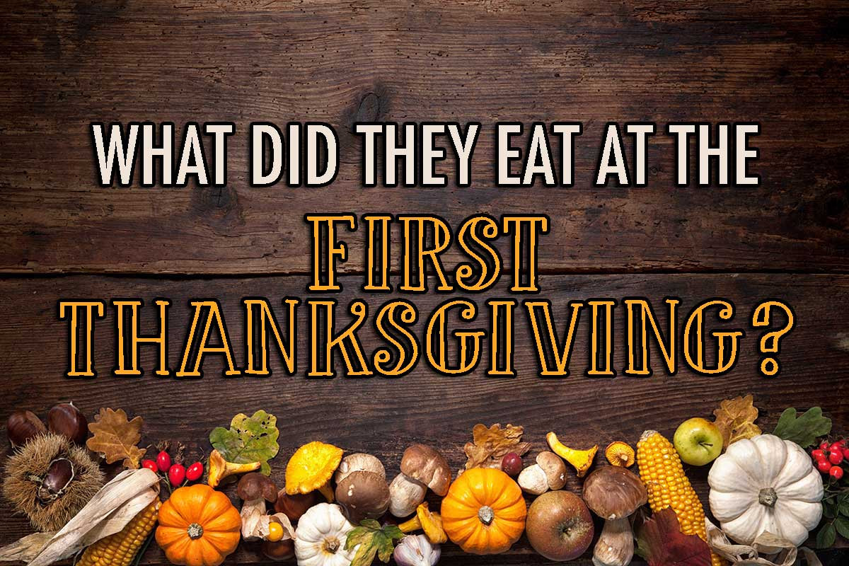 Did The Pilgrims Eat Turkey On Thanksgiving  What did they eat at the First Thanksgiving