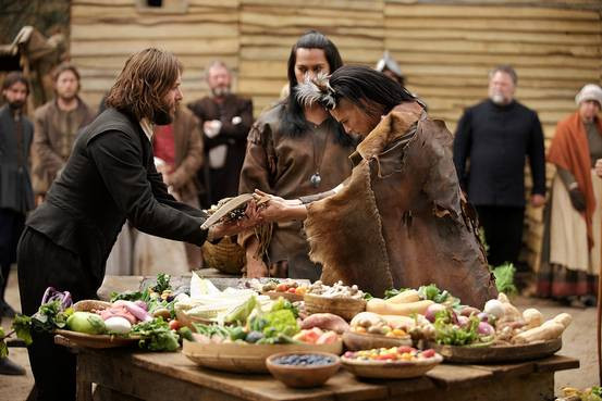 Did The Pilgrims Eat Turkey On Thanksgiving  'Saints & Strangers' and 'The Pilgrims' TV Reviews New
