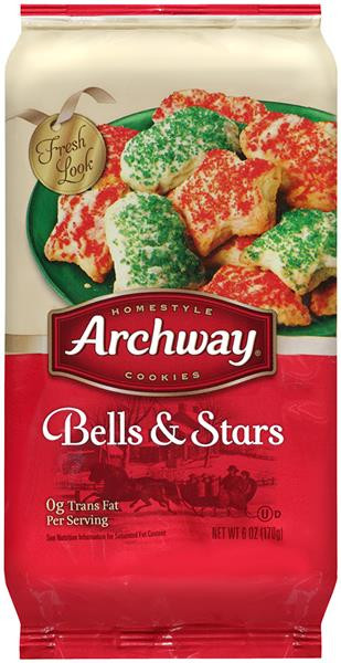 Discontinued Archway Christmas Cookies  Archway Homestyle Cookies Bells & Stars