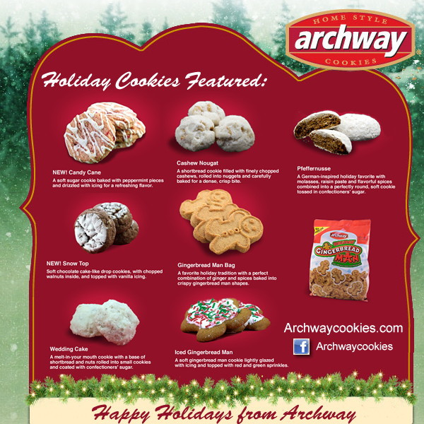 Discontinued Archway Christmas Cookies  Archway Cookie Contest Vote For your Favorite & Win