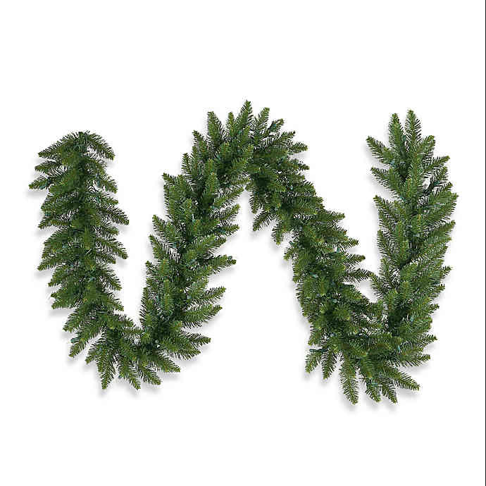 Discontinued Archway Christmas Cookies  Vickerman Camdon Fir Garland in Green