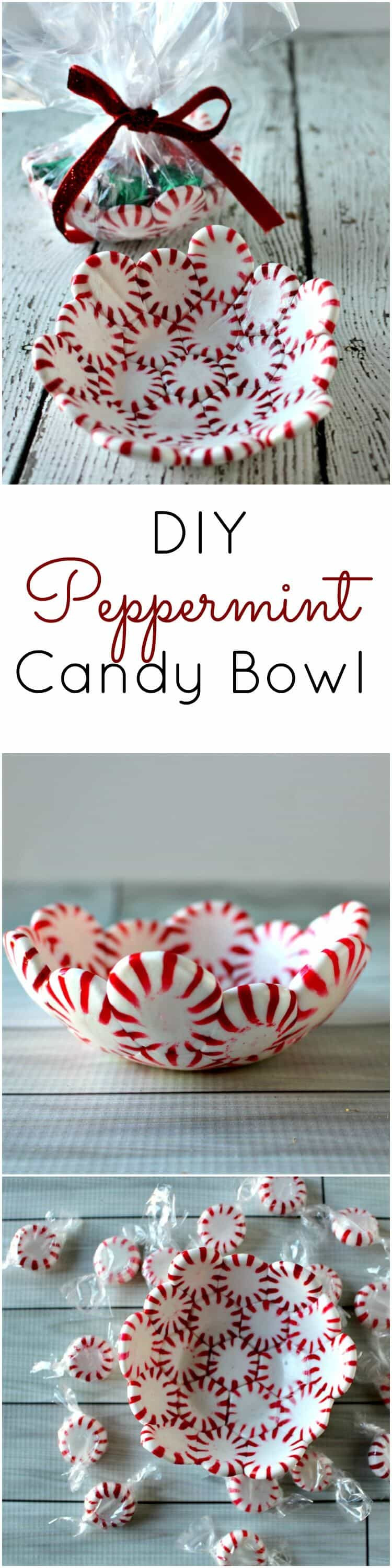 Diy Christmas Candy  DIY Peppermint Candy Bowls Princess Pinky Girl