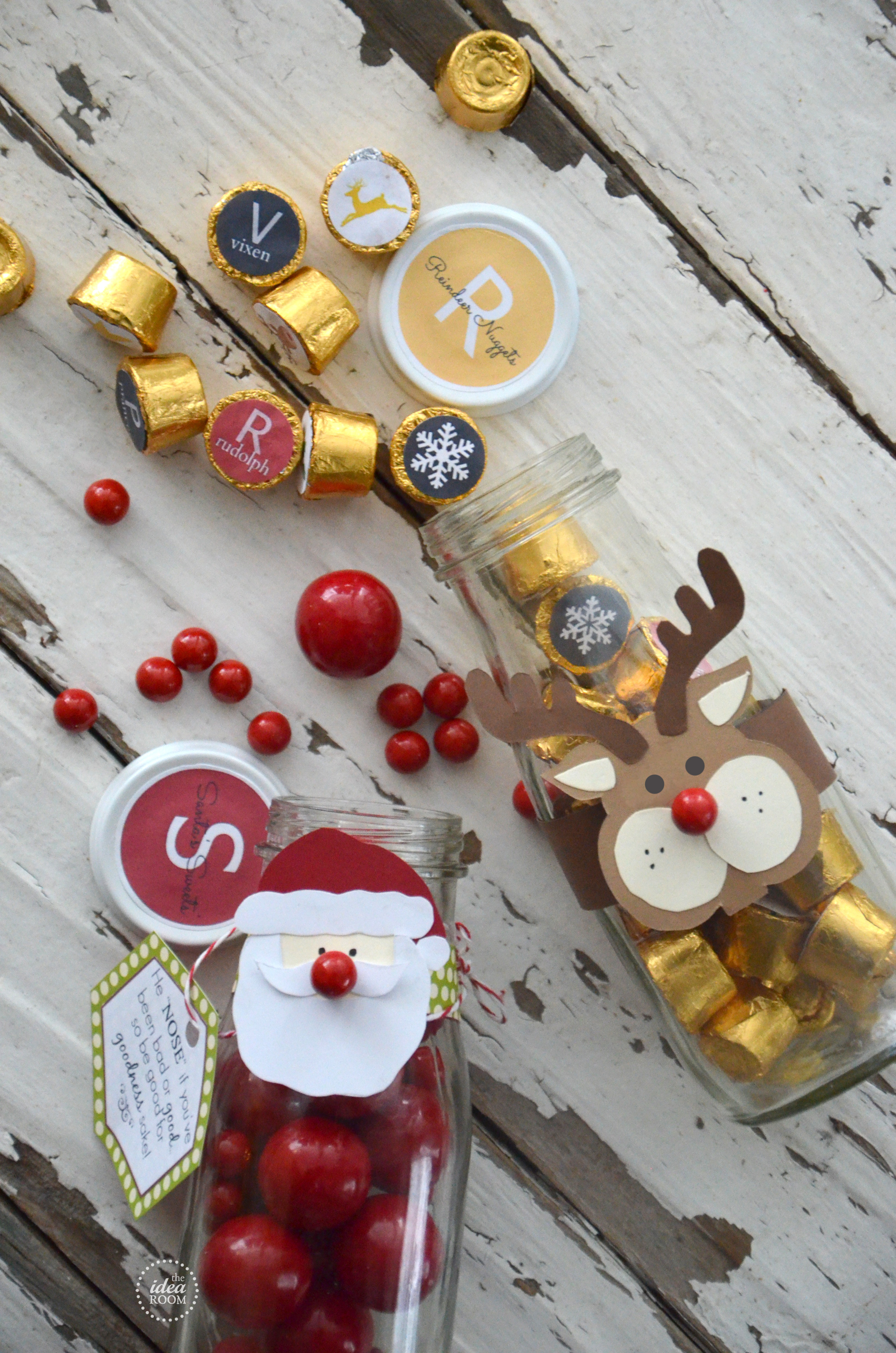 Diy Christmas Candy  Christmas Candy Gift The Idea Room