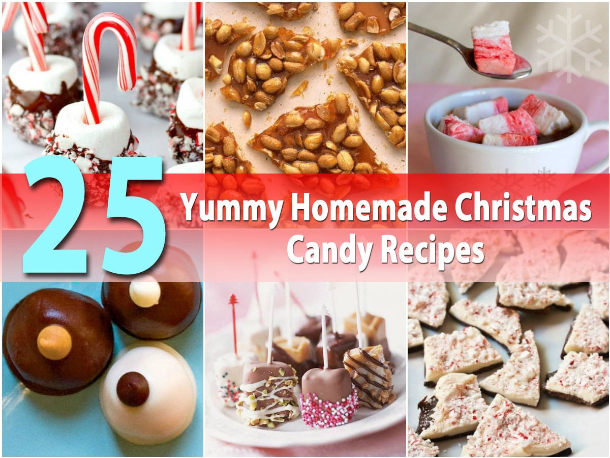 Diy Christmas Candy  25 Yummy Homemade Christmas Candy Recipes DIY & Crafts