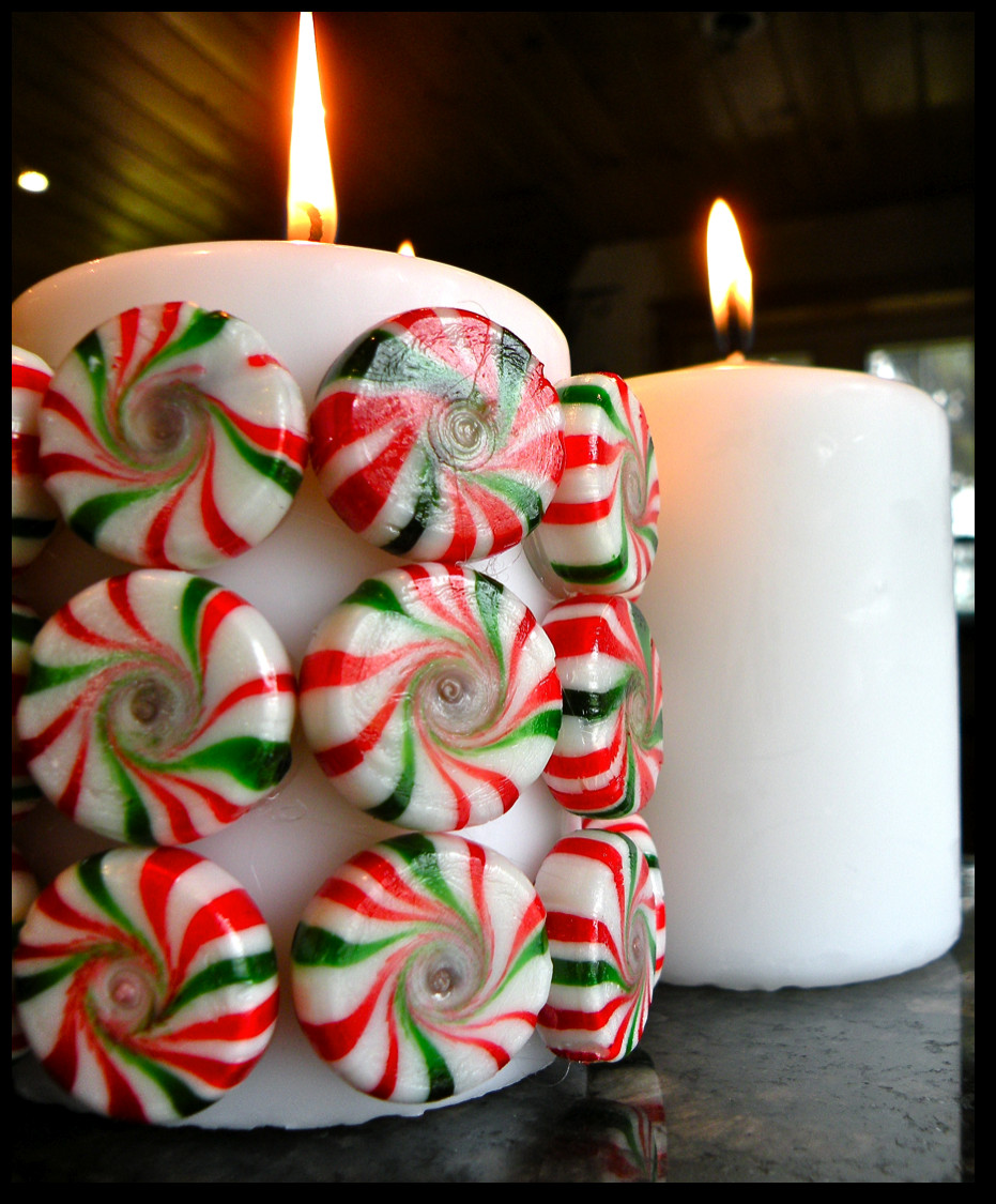 Diy Christmas Candy  Killer Crafts DIY Holiday Peppermint Candy Candle