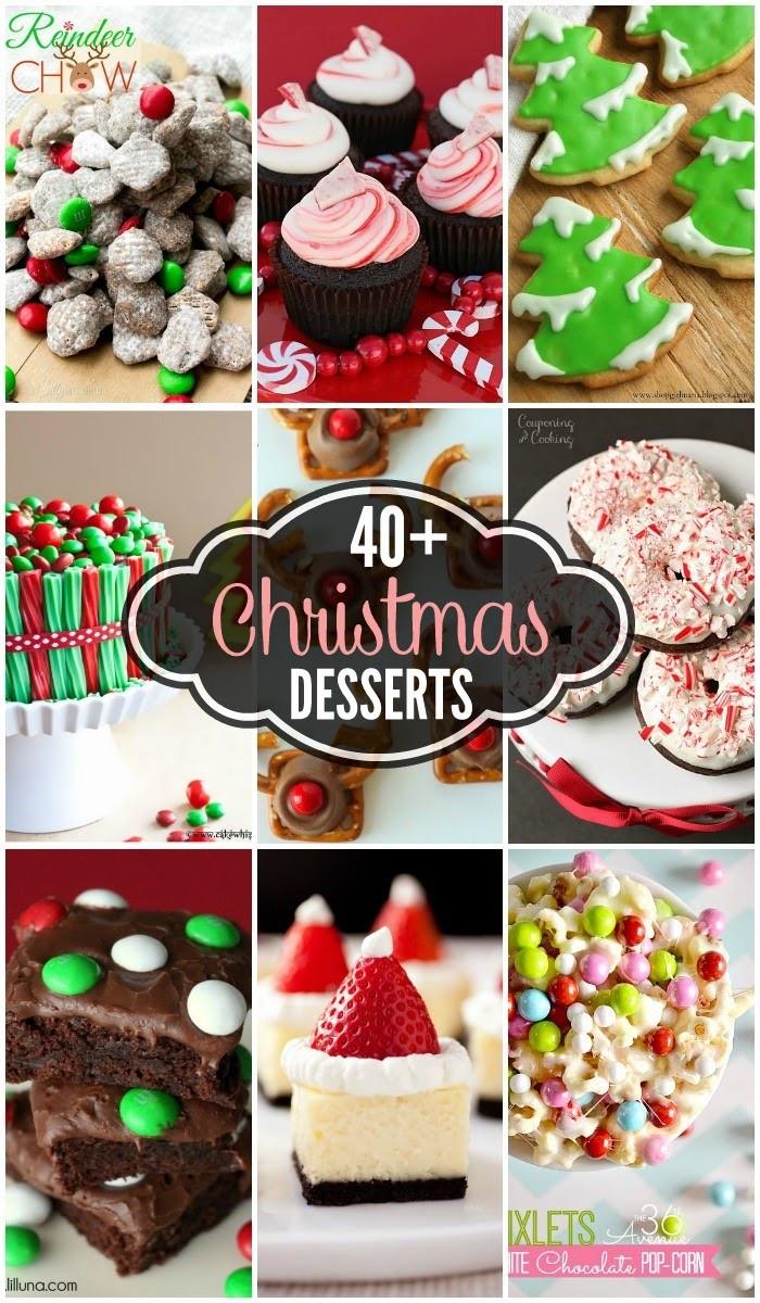 Diy Christmas Desserts  40 Christmas Desserts Handy DIY
