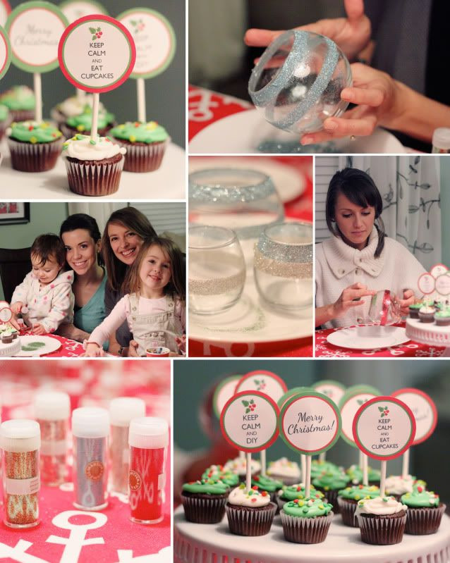 Diy Christmas Desserts  A Desserts & DIY Christmas Party – At Home With Natalie