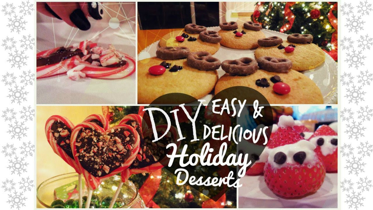 Diy Christmas Desserts  DIY Easy & Delicious Holiday Desserts