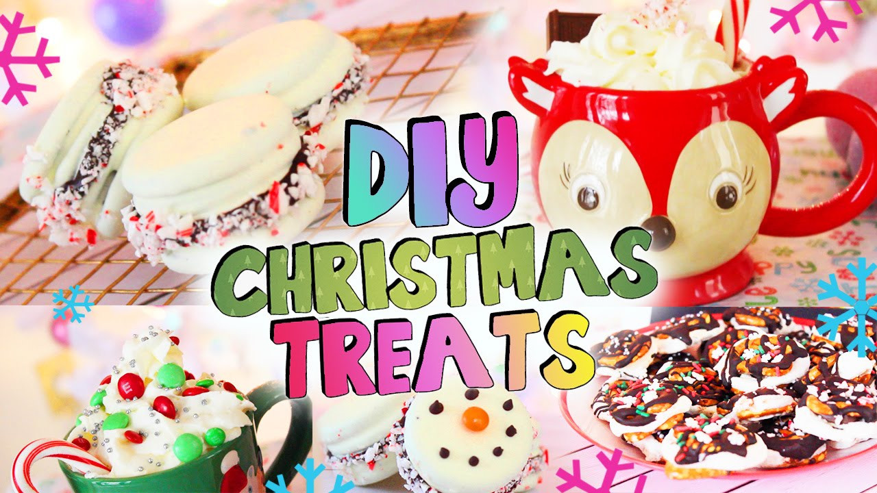 Diy Christmas Desserts  DIY Holiday Treats Christmas Party Desserts and Drinks