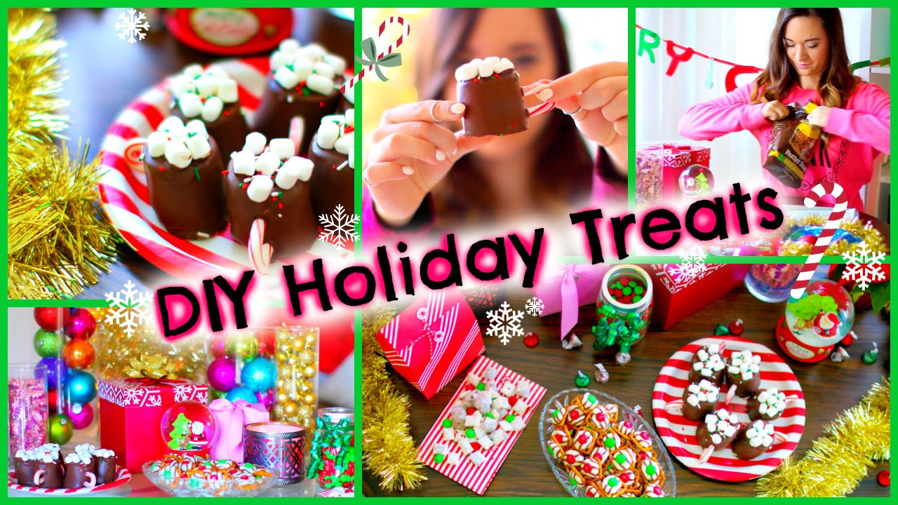 Diy Christmas Desserts  DIY Holiday Treats ♡ Pinterest Inspired Christmas Party
