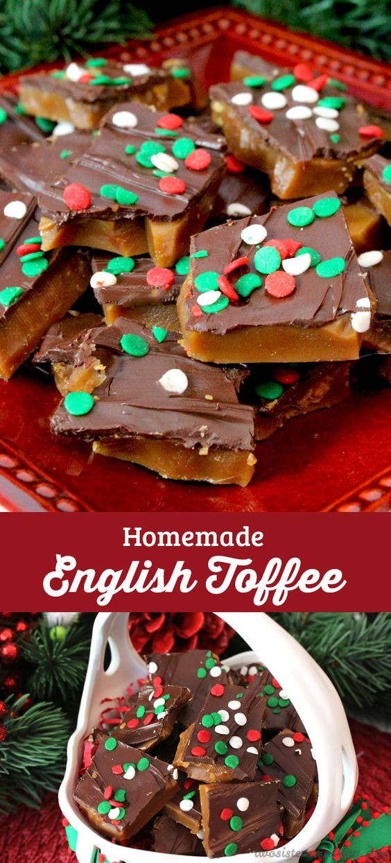 Diy Christmas Desserts  Toffee English and Christmas foods on Pinterest